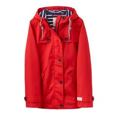 Tisbury Womens Nautical Jacket Outwear Raincoats For
