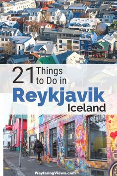 21 of the coolest things to do in Reykjavik Iceland. Find quirky museums, street art, Viking history and the best food in Reykjavik. Get Reykjavik vacation tips ideas for day trips. Iceland Travel Tips, Europe Travel Tips, European Travel, Travel Advice, Travel Guides, Travel Destinations, Travel Hacks, Travel Deals, Voyage Europe