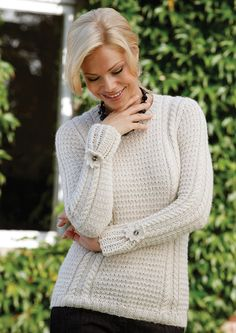 Mimi Free Alpaca Jumper Knitting Pattern