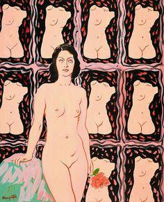 René Magritte Lola 1948