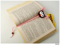 Book lover gift. Crochet bookmark. Stuffed owl book charm. Small birthday gift for girls. Kids book mark. Reading is fun. Teacher's gift.