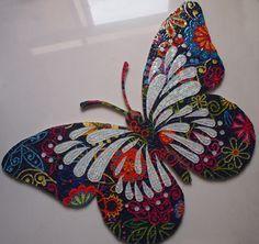 Beauty Art, Mosaic Tiles, Butterfly, Diy, Creative, Aquarium, House, Ideas, Craft