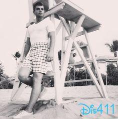 "Photo: Garrett Clayton In Character For ""Teen Beach Movie 2″ July 27, 2014"