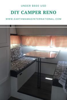 Save money and help out the planet with a fun DIY restoration project. With a little work you can have hours of family fun. Check out how to transform an old camper using (mostly) second hand and repurposed materials for under $600 USD. Fun Diy, Easy Diy, Old Campers, Earth Mama, Camper Renovation, Diy Camper, Zero Waste, Saving Money, Repurposed