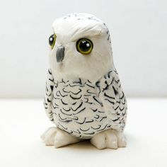 Etsy Transaction - Reserved for Grackie Snowy Owl Sculpture by Shelly Schwartz
