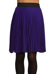 brigitte bailey syrah chiffon skirt via zappos