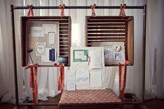 Wedding fair display idea