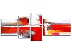 Tableau peinture abstrait Mil