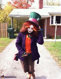 The Mad Hatter Costume - Halloween Costume Contest via @costumeworks