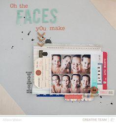 RoundaboutSneaks - Allison Waken - Allison Waken #scrapbook