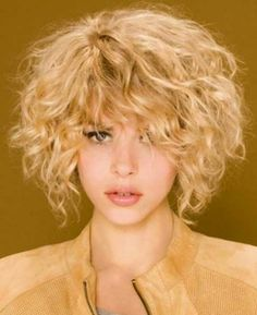 Do you have long curly hair and want a haircut? Why not try out this style!