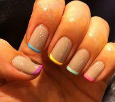 Unas Los Colores Mas Nuevos - Belleza Y Moda - Estampas