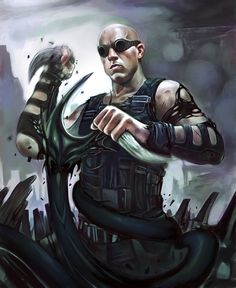 Great Riddick fan art!