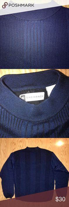 338dd43545 💥Vintage Bachrach Men's Shirt Size: XL Color: Blue Material: 60% Rayon