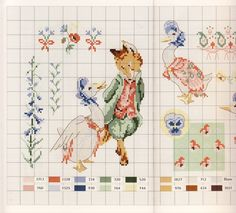 Gallery.ru / Фото #26 - Veronique Enginger. Le monde de Beatrix Potter - CrossStich