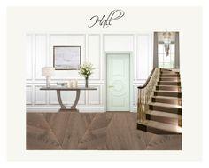 Hall by veryvlada on Polyvore featuring interior, interiors, interior design, дом, home decor, interior decorating, United Curtain, Improvements and American Atelier