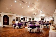Upper Ballroom at Castle Park Events Center
