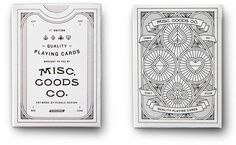 Misc. Goods Co., a new shop from Tyler Deeb of Pedale Design.