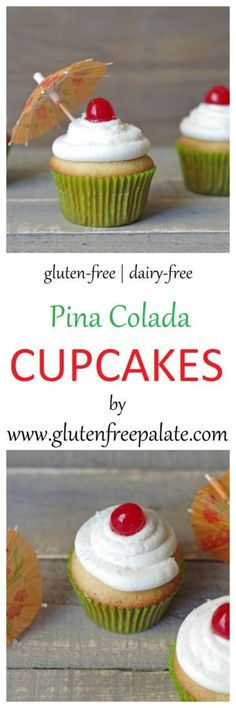 Are you ready for a tender, dreamy, tropical Pina Colada Cupcake that's not only…