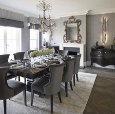 Love this classic elegance by Sophie Paterson Interiors