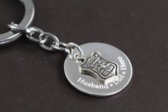 Police Officer Gifts Keychain Husband Dad by ShinyLittleBlessings