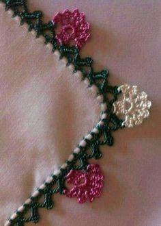 Crochet Flower Tutorial, Crochet Flowers, Crochet Lace, Embroidery On Clothes, Crochet Necklace, Pattern, Soap Recipes, Crochet Edgings, Crochet Decoration