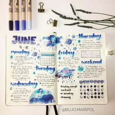 Since I have trouble keeping up with my monthly trackers I tried weekly trackers this past week! Not sure if I'll do them every week, but I…