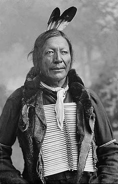 Fire Lightning Wakinyan Peta (c1835-c1909). Also known as Blue Cloud. Oglala: Wablenica. Born about 1835; father was a Cheyenne and mother a Lakota. Fire Lightning married about 1862 to Road Canku. He hunted with the southern Oglala on Republican River area during the 1870s and achieved some status as a minor headman. Had at least five children but I do not have any of their names yet. He died sometime between 1907 and 1910. (Ephriam on amertribes.proboards.com/thread/1006)