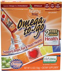 Omega to Go Omega 3 DHA Drink Mix -- VeganEssentials Online Store