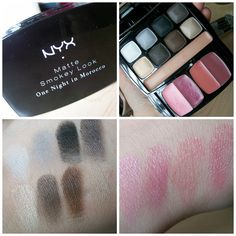 @sophia oranje Cosmetics One Night in Morocco Palette for a matte smokey eye- click for a review & comparison to Urban Decay Naked Basics