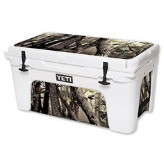 MightySkins Protective Vinyl Skin Decal for YETI Tundra 65 qt Cooler wrap cover sticker skins Tree Camo * Want additional info? Click on the image.-It is an affiliate link to Amazon. #CampKitchenEquipment