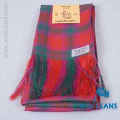 Pure wool sash in MacNab ancient tartan - from ScotClans