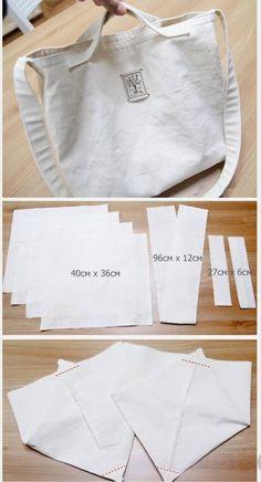 Best 12 ikat bag: Make A Bag Chapter Darted Tote – SkillOfKing. Cotton Shopping Bags, Diy Bags Purses, Diy Tote Bag, Diy Couture, Linen Bag, Denim Bag, Fabric Bags, Cloth Bags, Handmade Bags