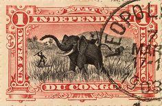 postmark 1903 (Belgian Congo)