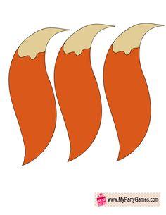 Pin the Tail on the Fox Game Printable | Free Printable ...