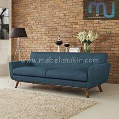 Kursi sofa retro Living Room Decor Grey Couch, Living Room Wood Floor, Living Room Carpet, Living Room Grey, Living Room Furniture, Modern Furniture, Living Rooms, Vintage Furniture, Diy Couch