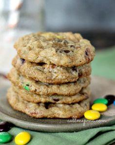 Pretzel Oatmeal Chocolate Chip Cookie Recipe - Call Me PMc