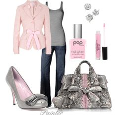 Bows, created by mels777 on Polyvore