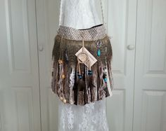 Native American Inspired Fringe Bag   Navajo Dream by Pursuation