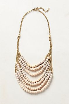 Salt Flats Bib Necklace #anthrofav #greigedesign