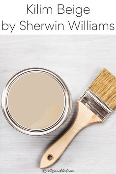 Kilim Beige Paint Color Grey Beige Paint, Beige Paint Colors, Paint Colors For Home, Beige Color, Benjamin Moore Beige, Shaker Beige, Grant Beige, Kilim Beige, Accessible Beige