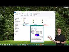 Jak vyčistit disk a získat volné místo ve Windows 10 - YouTube Windows 10, Youtube