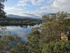 Nowra, Overlooking the Shoalhaven River, Australia