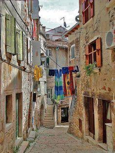 Definitely on my list. Alley, Rovinj, Istria, Croatia