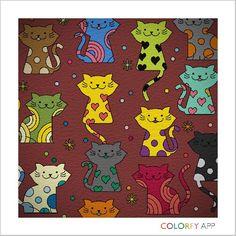 #colorfy #littlecats #socute