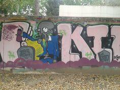 muertos vivientes graffiteros resilientes.