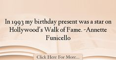 Annette Funicello Quotes About Birthday - 7166