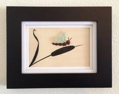 sea glass framed art - Bing images