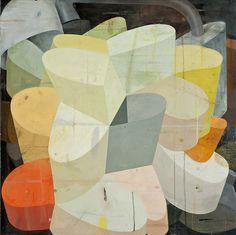 Deborah Zlotsky - Can the devil speak true?,oil on canvas,36 x 36, 2013