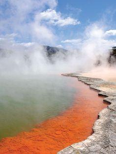 Nouvelle-Zélande - Rotorua, Wai-O-Tapu